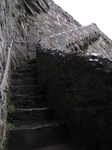SX20516 Steep narrow stairs in Harlech Castle.jpg