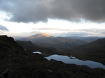 SX20644 Sun starting to set Pyg Track, Snowdon.jpg