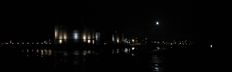 SX20707-10 Panorama of Caernarfon Castle by moon light.jpg