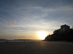 SX21239 Sunset over Tenby South Beach.jpg