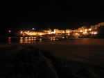 SX21361 Tenby harbour by night.jpg