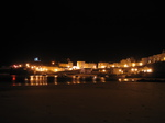 SX21374 Tenby harbour by night.jpg