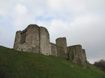 SX21481 Kidwelly Castle from river bank.jpg