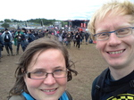 20120609_125724 Jenni and Marijn at Download festival 2012.jpg