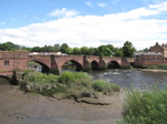 SX23059 Bridge over river Dee in chester.jpg