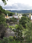 SX23639 Portmeirion through trees.jpg