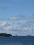 SX24721 View from Whitesands to Gwahan and Carreg-gafeiliog islands.jpg
