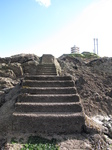 SX24892 Steps up to Mumbles lighthouse.jpg