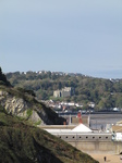 SX24901 Oystermouth Castle from Mumbles head.jpg