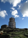 SX24912 Mumbles head lighthouse in scaffolding.jpg