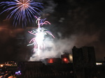 SX25032 Fireworks over Caerphilly castle.jpg