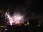 SX25045 Sparkling fireworks over Caerphilly castle.jpg