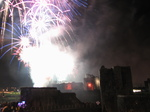 SX25055 Fireworks over Caerphilly castle.jpg