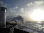 SX33604 Waves at Porthcawl lighthouse.jpg
