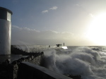 SX33730 Waves at Porthcawl lighthouse.jpg