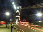 LZ00431 Trails of car going over Clifton suspension bridge at night.jpg