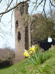 20140308 Bike ride by Monmouthshire and Brecon Canal and abandoned railway - Goytre Wharf to Abergavenny
