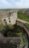 FZ004433-50 View down Great Tower at Raglan Castle.jpg