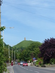FZ005556 Glastonbury tor from Glastonbury street.jpg