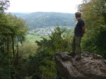 FZ008890 Marijn looking at view to Tintern Abbey from Devil's pulpit.jpg