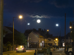 20141008 Blood moon over Llantwit Major