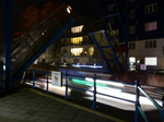 FZ010550 Lights of boat going through bridge into Exmouth harbour at night.jpg