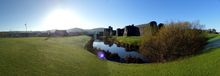 FZ010793-800 Panorama of Caerphilly and castle on frosty morning.jpg