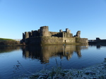 20141213 Frosty Caerphilly castle