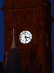 FZ011767 Clock tower of Pierhead building in Cardiff bay by night.jpg