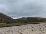 FZ012507 Pennard Castle at Three Cliffs Bay.jpg