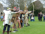 FZ012942 Archers at Glastonbury Abbey.jpg