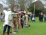 FZ012943 Archers at Glastonbury Abbey.jpg