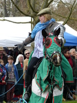 FZ013153 Welsh knight collecting favours.jpg