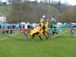FZ013166 Welsh and Yellow knights jousting.jpg