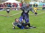 FZ013184 Black and blue knights fighting.jpg