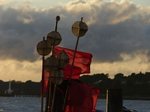 FZ019464 Buoy marker flags on fishing boat.jpg