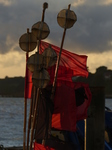 FZ019465 Buoy marker flags on fishing boat.jpg