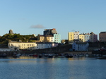 FZ020924 Reflection in beach of colourful houses in Tenby.jpg