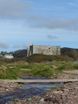 FZ021454 Manorbier castle from river.jpg