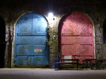 FZ021711 Doors in Tenby harbour at night.jpg