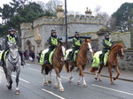 FZ025457 Mounted police escorting Welsh squad.jpg