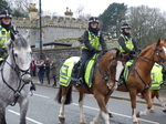 FZ025458 Mounted police escorting Welsh squad.jpg