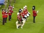 FZ025471 Welsh militairy band with goat mascot.jpg