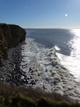 FZ026052 Waves by Llantwit Major cliffs.jpg