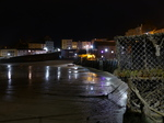 FZ026200 Lobster pods and Tenby harbour at night.jpg