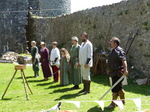 FZ029521 Medieval weapons demonstration .jpg