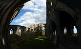 20161009 Tintern Abbey with Hans, Machteld and Jenni
