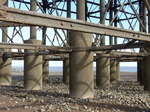 FZ033811 Supports of Penarth pier at low tide.jpg