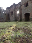FZ035665 Sun shining onto Raglan castle courtyard.jpg
